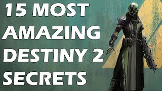 15 most amazing secrets in destiny 2 you didn't notice