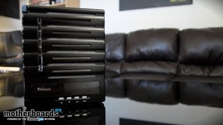 Thecus N5550 5 Bay NAS Server Unboxing & Features Review