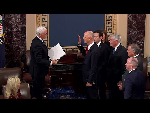 WEB EXTRA: Rick Scott Sworn In As Florida's Newest Senator