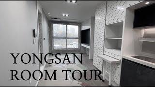 Seoul 용산 2억 원대 전세 신축 오피스텔 투어. …