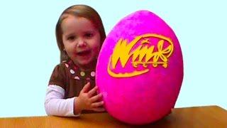 Винкс Клуб полная коллекция куклы и питомцы огромное яйцо с сюрпризом открываем игрушки