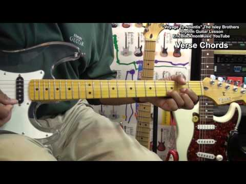 How To Play VOYAGE TO ATLANTIS Rhythm Guitar Chord TABS & Strumming Lesson Isley Brothers