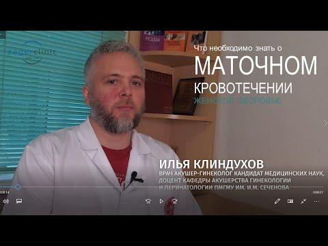 Маточное кровотечение    Причины и лечение