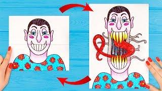 11 Einfache und Coole Tricks Zum Zeichnen
