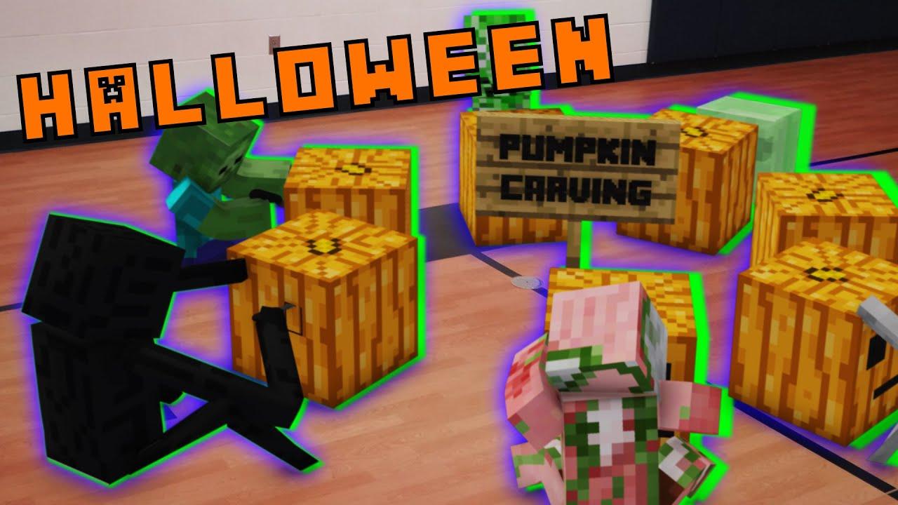 Monster School in Real Life Episode 12: Halloween Party ...