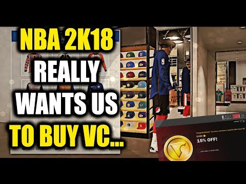 "NBA 2K18 REALLY WANTS US TO BE VC..... AND IT""S NOT GOING TO WORK!- Lockdown Defender BEASTIN!"