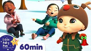 Jingle Bells Song! More Kids Christmas Nursery Rhymes | Little Baby Bum