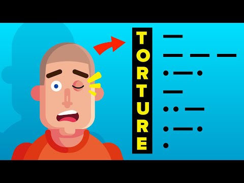 """POW Soldier Who Blinked """"TORTURE""""  in Morse Code on TV"""