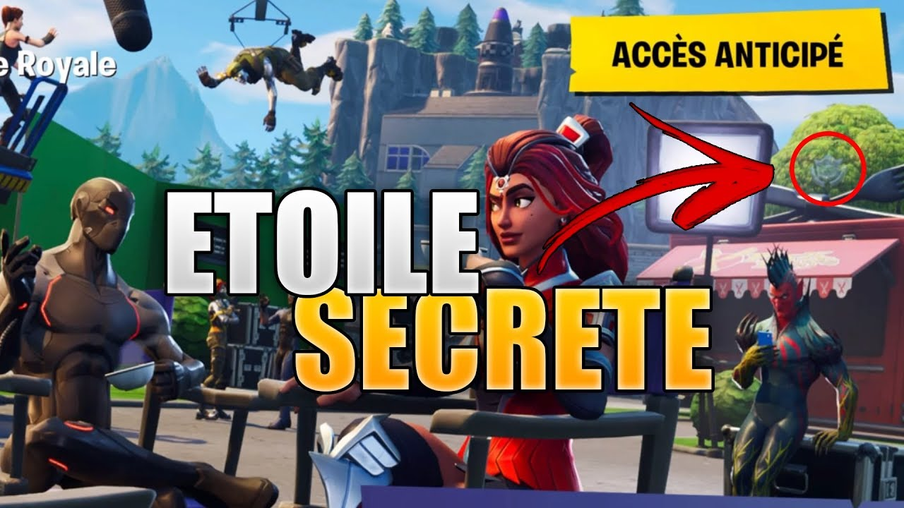 Fortnite Etoile Semaine 6 Secrete Nounou Cathofr
