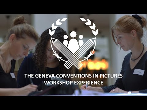 The Geneva Conventions in Pictures | Design workshop experience