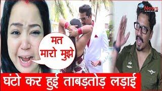 गुस्से से लाल पति हर्ष ने भारती सिंह का किया ऐसा हाल, घंटो तक हुई ताबड़तोड़ लड़ाई|Bharti Angry Video