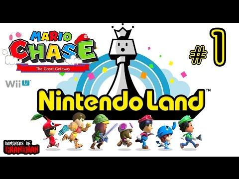 [ NINTENDO LAND | Wii U ] #1 | Mario Chase - 5 Jugadores | Gameplay