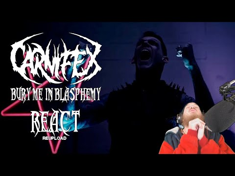 Carnifex - Bury Me In Blasphemy (Official Music Video) REACT! [Re-Post] Mp3