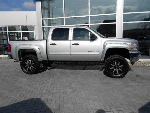 2012 chevy silverado 1500 lt lifted truck for sale youtube. Black Bedroom Furniture Sets. Home Design Ideas
