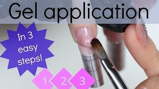 How to apply UV nail gel like a pro | Fast Application & filing tutorial