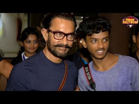 Aamir Khan Returns From 'Thugs Of Hindostan's Malta Schedule   Bollywood News