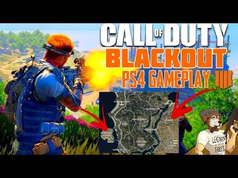 CALL OF DUTY || BLACKOUT || PS4 AND PC BETA|| PS4 TO PC COMPARISON thumbnail