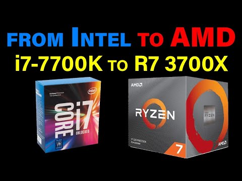 i7-7700K to Ryzen 7 3700X — Upgrading from 4 Cores to 8 Cores — LIVE Stream w/ Tech & Rogue