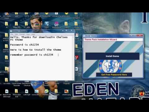 Chelsea FC theme pack 1 0 Free Download