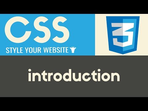 Introduction | CSS | Tutorial 1