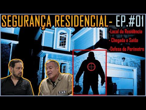 Dicas De Segurança Residencial EP#1 (Local, Chegada E Saída De Casa E Defesa De Perímetro)