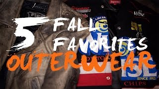 5 FALL FAVORITES 2015: OUTERWEAR! Ft. SUPREME NY, BLK DNM, HELMUT LANG