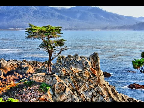 Pebble Beach 17 Mile Sunset Drive