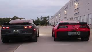 Camaro ZL1 vs C7 Z06  ARH vs TSP Headers Corsa Extreme Catback vs Stock C7 Z06