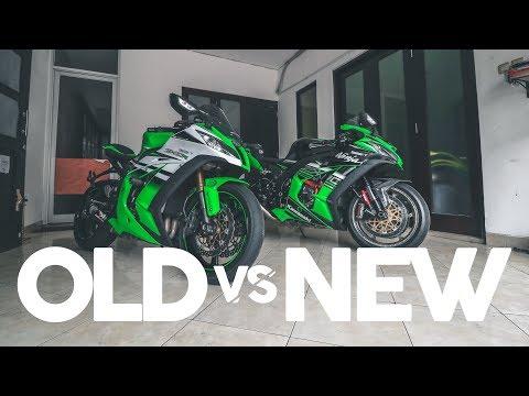 OLD VS NEW KAWASAKI ZX10R (Indonesia)