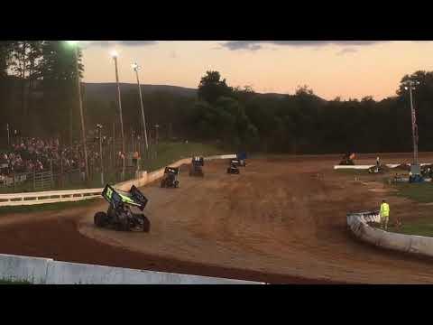 Sydney Prince Racing Clinton County Speedway Heat Race