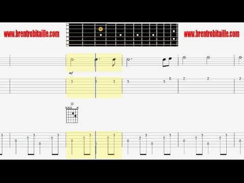 Guitar Tab - Long Black Veil - Guitar Fingerpicking Chords