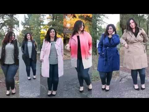 Plus Size Jacket Coat Lookbook