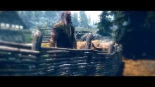 """Voltaire - Hallo Elskan Min"" - a Skyrim music video"