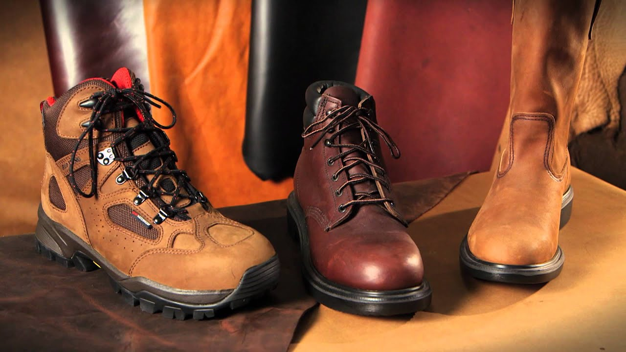Red Wing Shoes Technology: Leather Technology - YouTube