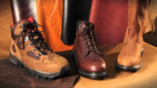 Red Wing Shoes Technology: Leather Technology