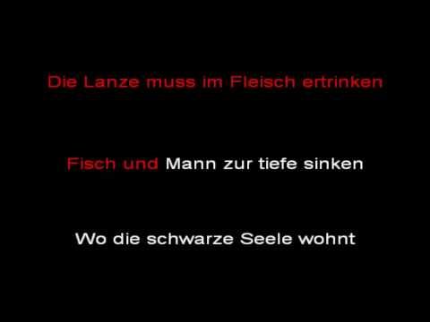 """Rammstein - Reise, Reise - """"Volkerball""""version (instrumental with lyrics)"""