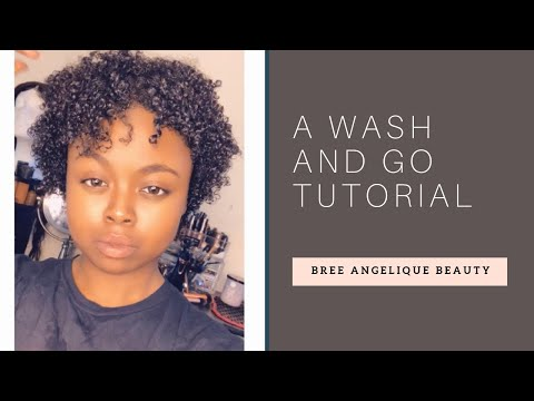 3C 4A Natural Hair Wash and Go Tutorial | 2019 thumbnail
