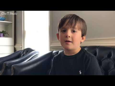 """Little Big Shot"" Jackson Drew recites Sonnet 18 by William Shakespeare."