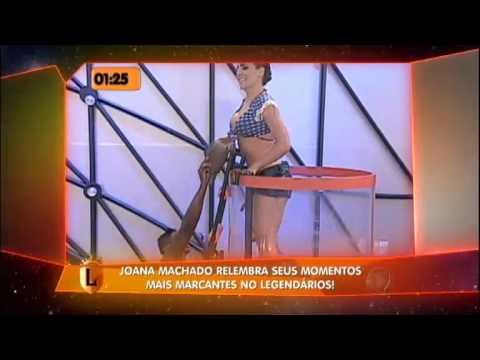 Joana Machado lembra de seus melhores momentos no Legendários #arquivolegendários