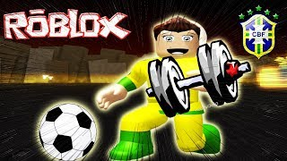 NEYMAR RAISING 1 000 000 KG at the ACADEMY (Weight Lifting Simulator 3) ROBLOX