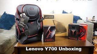 Lenovo Y700 Unboxing