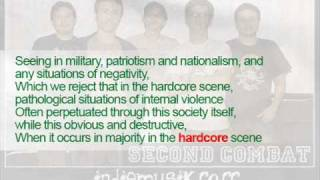 Second Combat - Infidelity (Malaysia Hardcore Band)