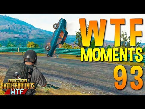 PUBG WTF Funny Moments Highlights Ep 93 (playerunknown's battlegrounds Plays)