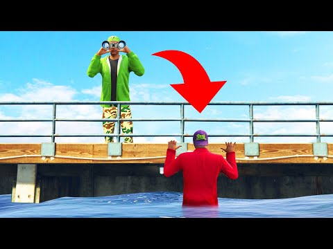 I Looked Right OVER HIM! (GTA 5 Hide And Seek) thumbnail