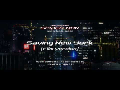 Saving New York (Film Version) (The Amazing Spider-Man: Unreleased Score)