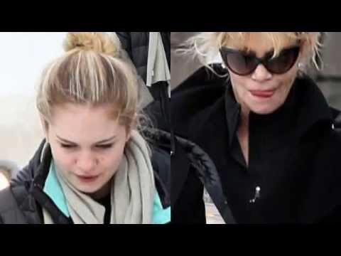 Not alone this season! Melanie Griffith bonds with daughter Stella ahead of her first ..