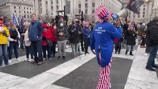 特朗普支持者聚集首都 特区启动国民警卫队 - YouTube