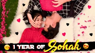 One Year Sohak 😍 || Mohak Narang @Surbhi Rathore