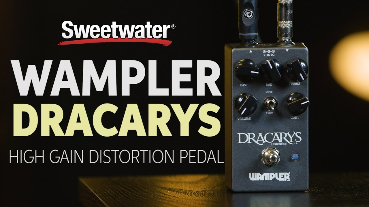 Wampler Dracarys High Gain Distortion Pedal | Sweeer on