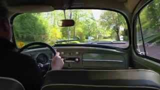 On board my 1960 Volkswagen 1200